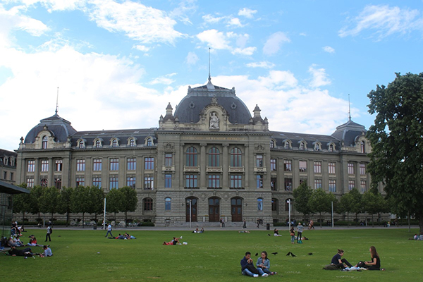 Main building of Bern University